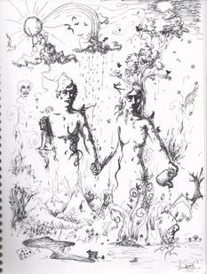 Surrealistic Pen Sketch #2