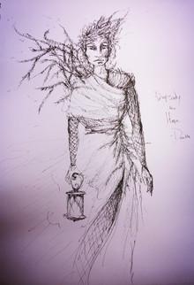 Concept Sketch for Death