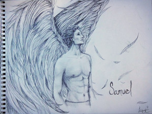 """Pencil Sketch - """"Samuel"""""""