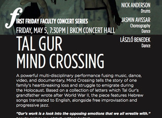 MIND CROSSING is going to NYC!