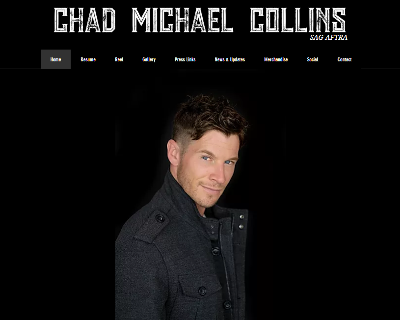 Actor Chad Michael Collins