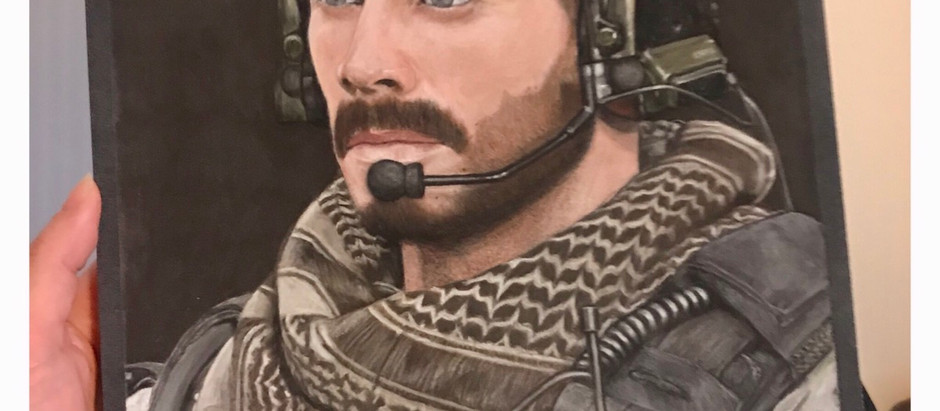 Chad Michael Collins Artwork