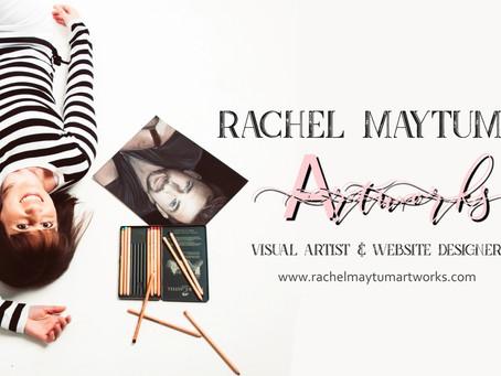 New Website Launch: Rachel Maytum Artworks!