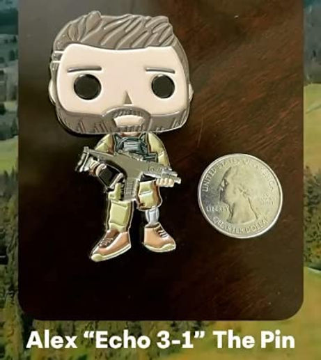 Alex Echo 3-1 Pin