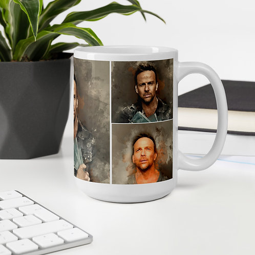 Double Flanery with Jane Two Mug