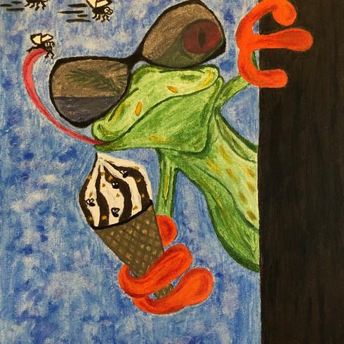 Ice Cream Frog