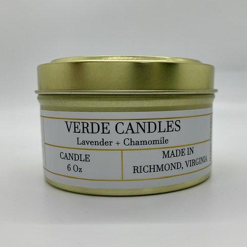 Lavender + Chamomile Travel Tin