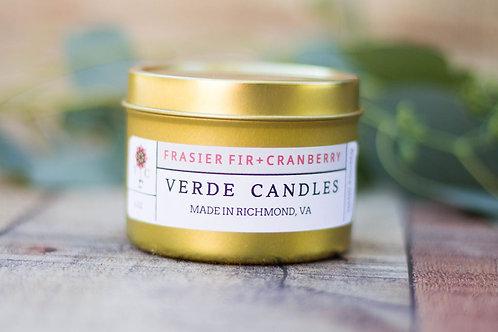 Fraiser Fir + Cranberry Travel Tin