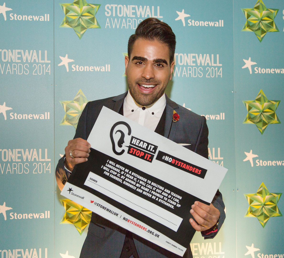 Stonewall awards 2014