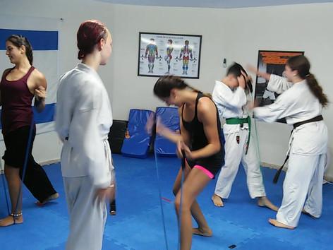 Defense strength training