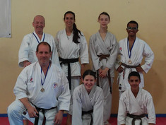 Tel Mond team at Competition