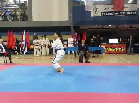 Raz at IDF Competition