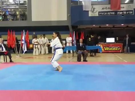 Raz at IDF Competition