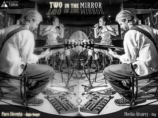 Two in the mirror