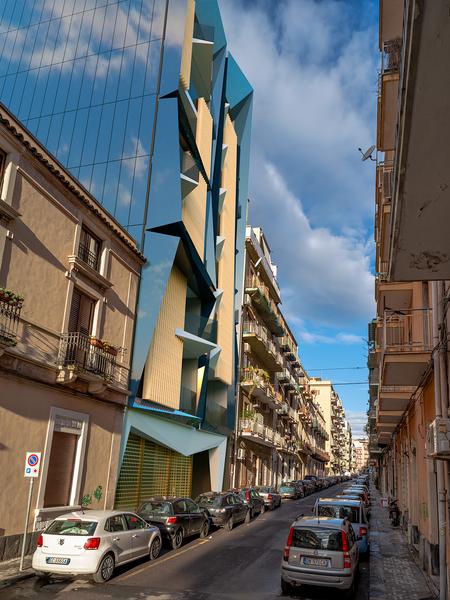 Blu Dalmazia - Prospetto su Via Dalmazia