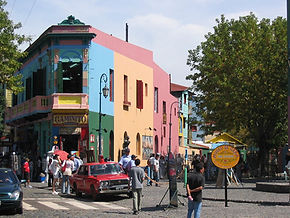 Full day City Tour in buenos Aires will allow you to enjoy all neighbourhoods like La Boca where all the colourful houses are and  learn about their history