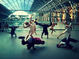 Dancer Sibylle Kockjeu Combination Dance Company