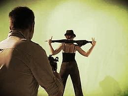 Sibylle Kockjeu video shoot