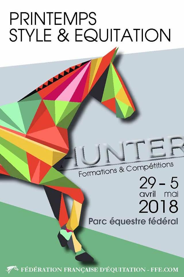 Affiche-Hunter-Printemps-style-et-equitation-2018-Lamotte-Beuvron-Parc-fédéral
