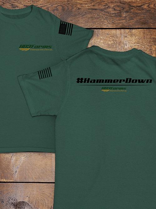 Heather Dark Green t-shirt