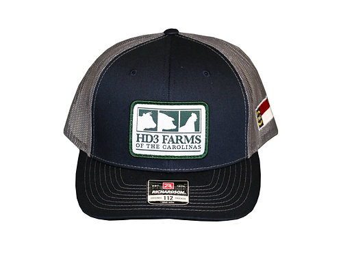 Navy/Gray Trucker Cap