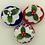 Thumbnail: Set of 3 Union jack Christmas pudding decorations