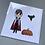 Thumbnail: Dracula & Bat Card