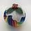 Thumbnail: Rainbow Christmas pudding decorations