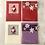 Thumbnail: Handmade Christmas cards....Santa & snowflakes