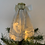 Thumbnail: Tree-topper Angels - Cream embroidered anglaise