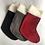 Thumbnail: Grey Stag & Tartan personalised stockings