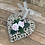 Thumbnail: Natural Rattan Heart - 2 paper roses
