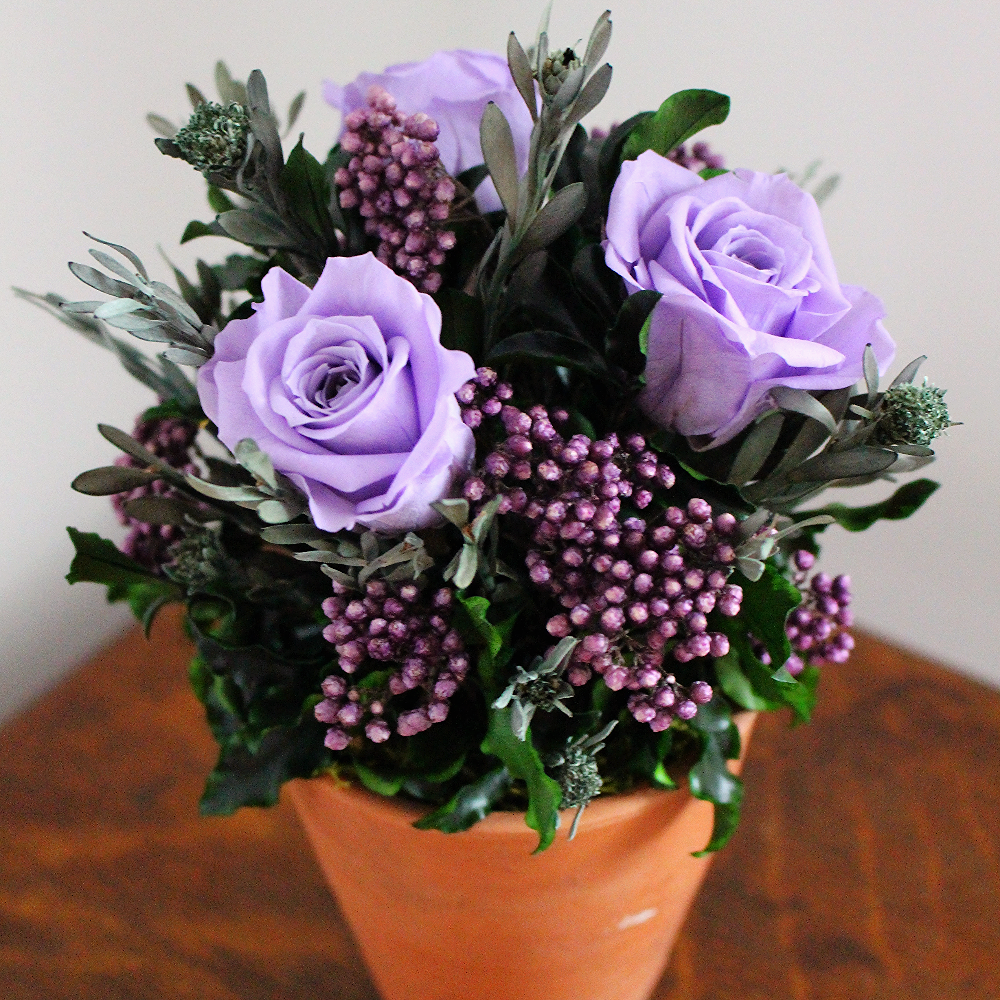 Lilac/Purple terracotta