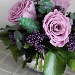 Lilac/Purple mirror ball