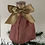 Thumbnail: Tree-topper  - Pink with gold shimmer