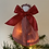Thumbnail: Tree-topper Angels - Red gingham