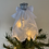 Thumbnail: Tree-topper Angels -White Embroidered Anglaise