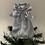 Thumbnail: Tree-topper  - Silver satin