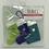 Thumbnail: Hand-knitted Tree Stockings -Purple/green/turquiose