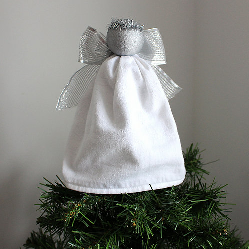Tree-topper Angels - White & Silver