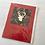 Thumbnail: Handmade Christmas cards....Stag/Hare