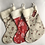 Thumbnail: Large Trees & Reindeer Personalised stockings