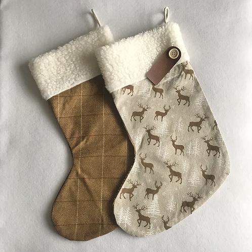 Stags & Tweed Personalised stockings