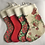 Thumbnail: Floral & Red/Green Personalised stockings (small & large)