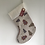 Thumbnail: Linen & patterned Personalised stockings (small & large)