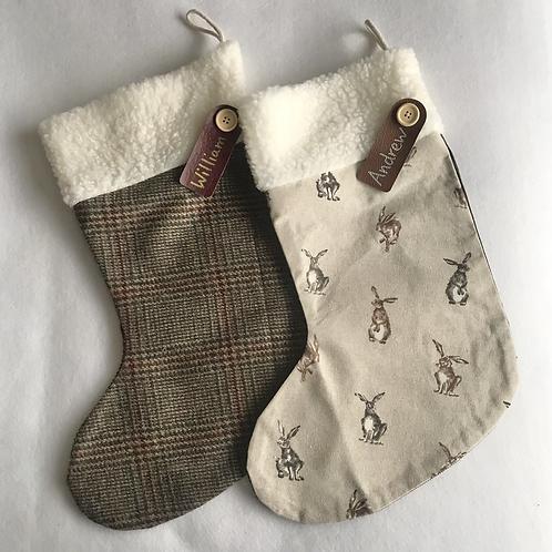 Hare & Tweed Personalised stockings
