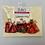 Thumbnail: Small Tree Angels - Tartan, Red & Gold