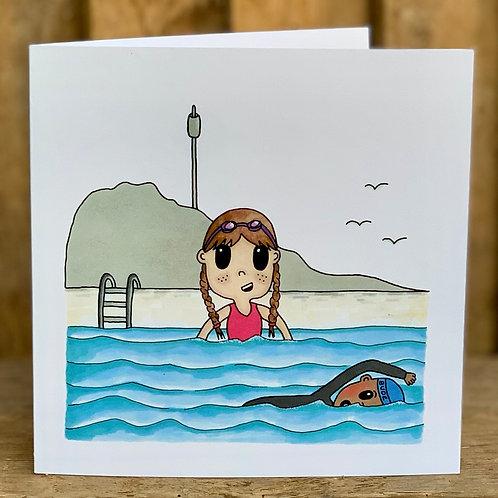 Bude Sea Pool Card