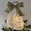 Thumbnail: Tree-topper Angels - Cream embroidered