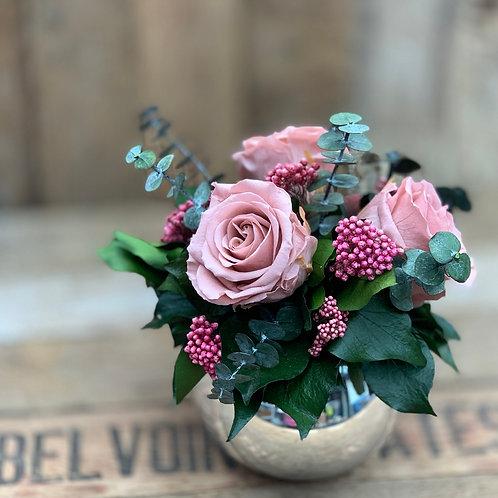 Mirror Ball - Vintage Pink/pink
